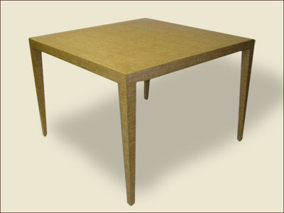 Catalog Item #100 - Game Parsons Table with Tapered Legs