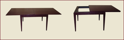Catalog Item #100 Parsons Flip Top Dining Table