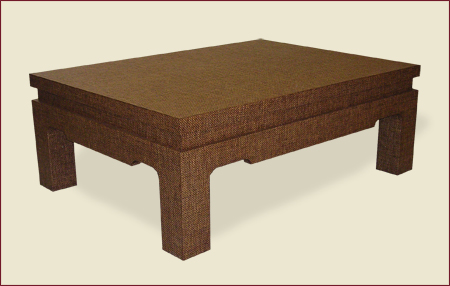 Catalog Item #4300 - Square Edges Cocktail Table