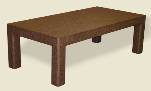 "Product ID 054 - #100 Parsons Table with 3-1/2"" Leg and Apron"