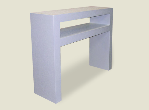 #100 Parsons Table with Shelf - Product ID 100-16