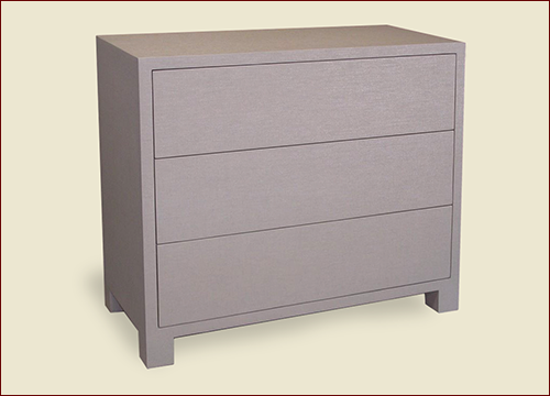 Catalog Item #105-17 - #1000 Three-Drawer Dresser with Custom Feet